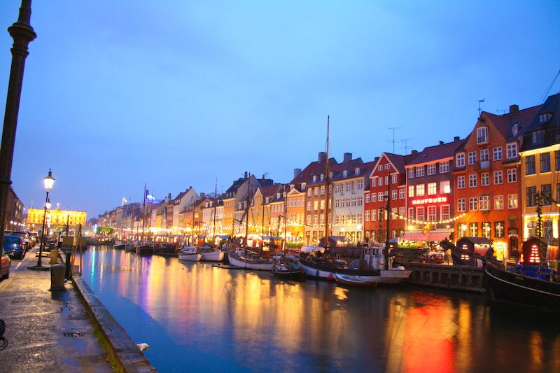 The Exotic Travel Destination In The World Christensen Canal In Copenhagen Denmark